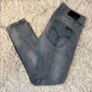 Calvin Klein distressed Denim jeans 27/28